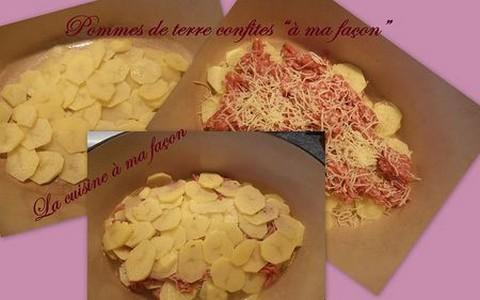 Pommes de terre confites - Photo par nadège18