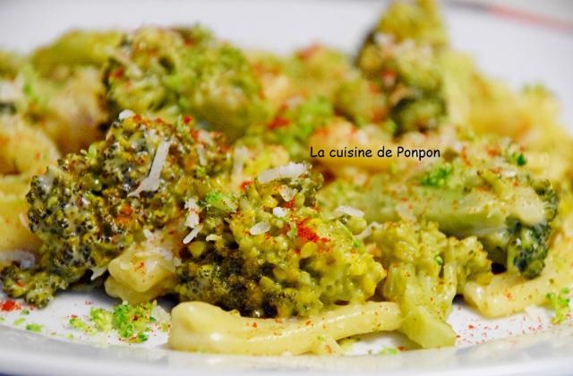 One pot pasta aux pâtes et brocoli - Photo par Ponpon