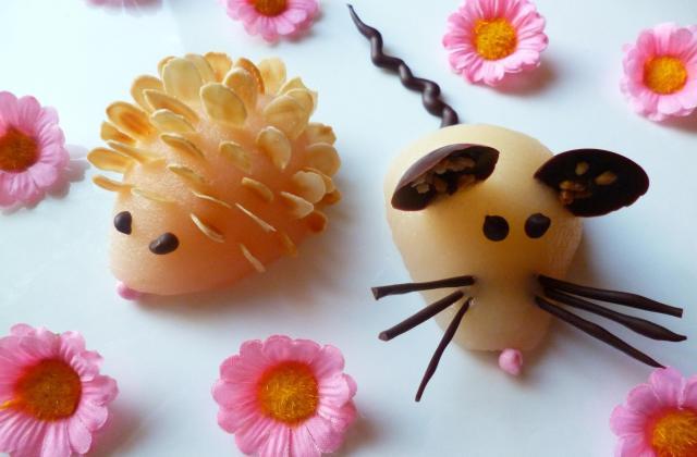 Mes p'tits animaux choco-fruités - Photo par macaron41