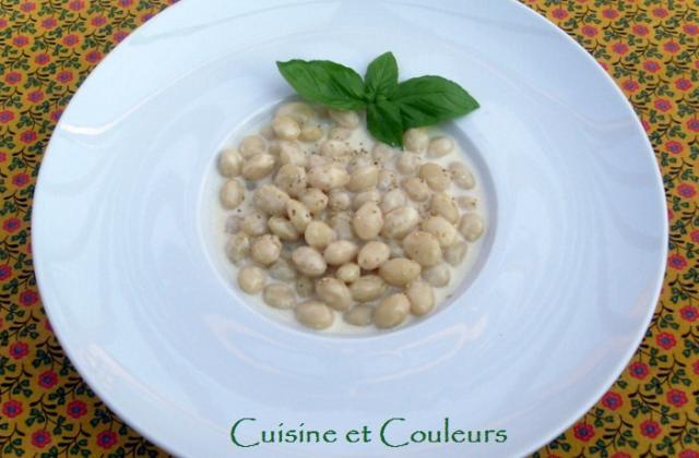 Cocos de paimpol à l'ail blanc, comme un risotto - Photo par irisdelabeaume