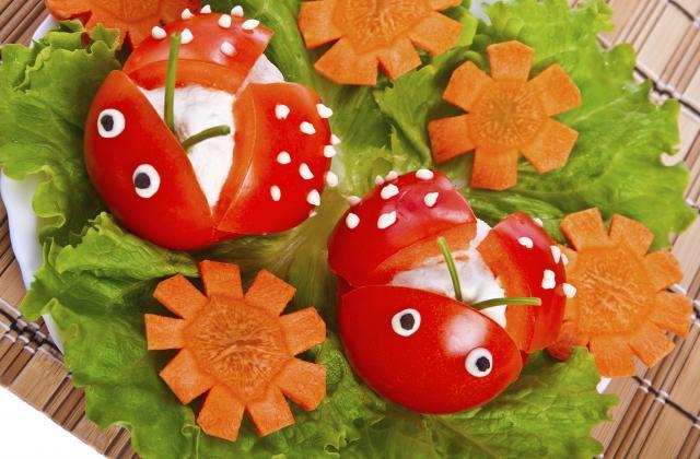 Coccinelles de tomates cerise à croquer - Photo par Bérengère