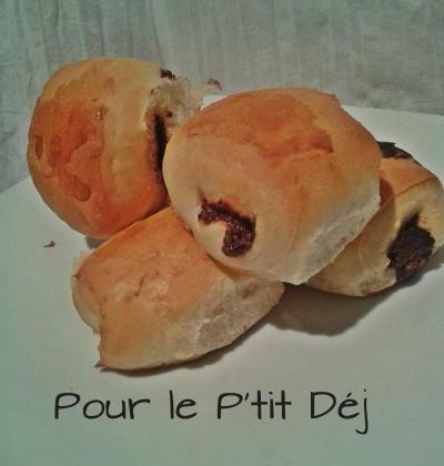 Petits pains au nutella - Photo par Delf en Cuisine