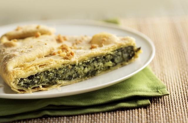 Tarte aux épinards et parmesan - Photo par 750g