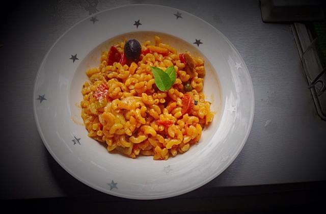 One pot pasta d'été ! - Photo par at00h0