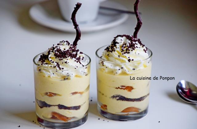 Verrine de babas au limoncello et crème mascarpone - Photo par Ponpon