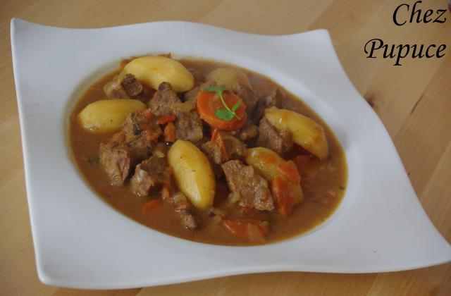 Goulash à ma façon - Photo par myriamn5