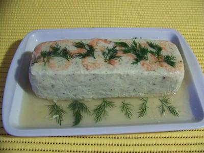 Terrine de poissons - Photo par 750g