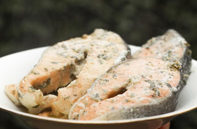 Saumon à l'oseille - Photo par helenetx