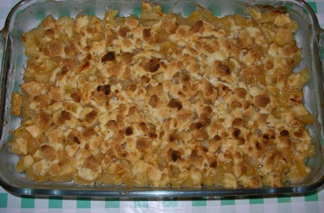 Crumble aux pommes pour petits et grands - Photo par croquette89