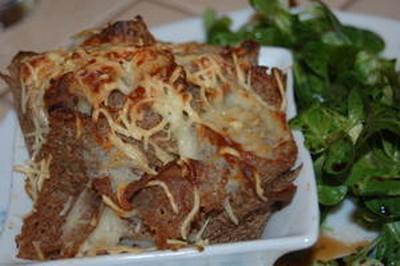 Galette aux pétoncles et fondue de poireaux - Photo par ihoube
