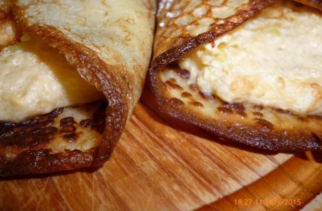 Crêpes soufflées aux pommes reinettes - Photo par Communauté 750g