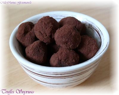 Truffes Soyeuses Choco-Tofu - Photo par delf745