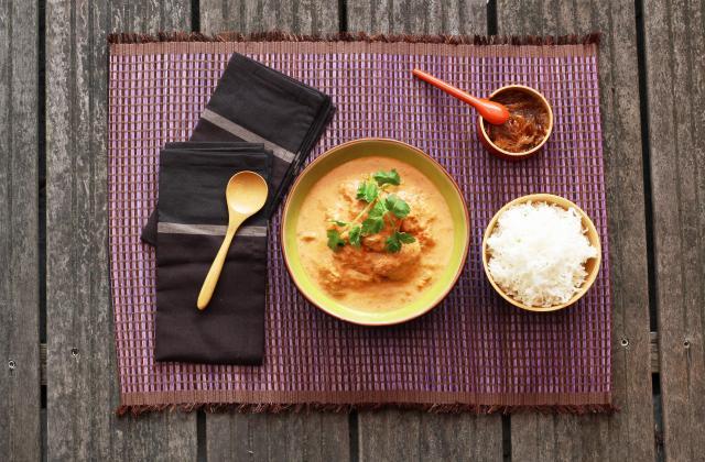 Curry facile de poulet à l'indienne - Photo par Silvia Santucci