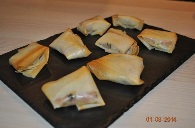 Croustillants au camembert - Photo par sucette violette