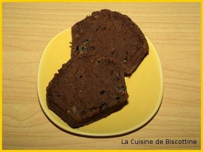 Moelleux au chocolat et fruit de la passion - Photo par biscottine