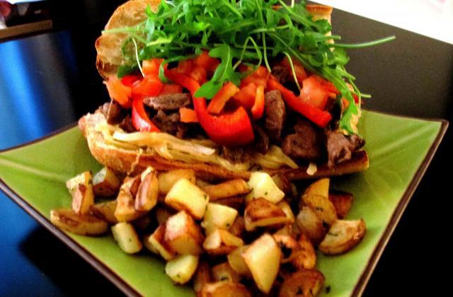 Kebab maison à l'agneau Presto grillé - Photo par Tartiff