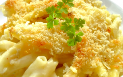 Gratin de macaronis: simple et réconfortant - Photo par mathildee