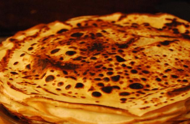 Pâte à crêpes parfumée à la fleur d'oranger - Photo par ladinettedecrevette