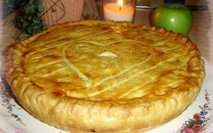 "Tarte aux pommes à la ""canadienne"" - Photo par mamiegF"