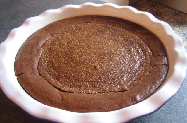 Fondant au chocolat et aux marrons selon mamie - Photo par emilybk