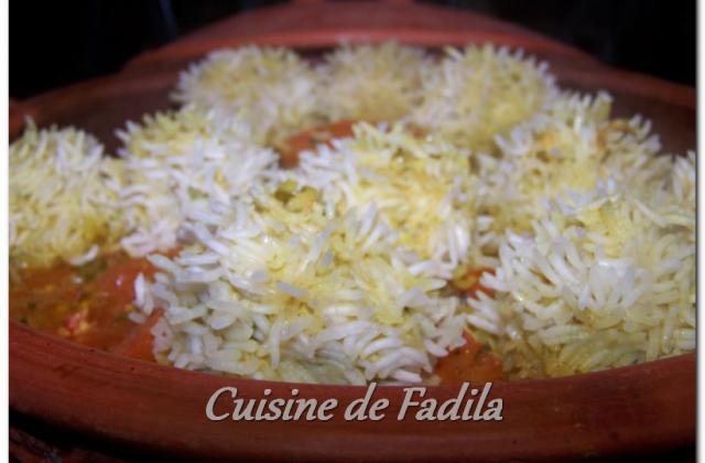 Tajine de boulettes de poulet aux légumes - Photo par FadilaB