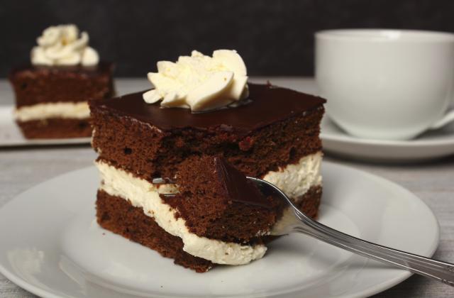 Sponge cake au chocolat - Photo par 750g