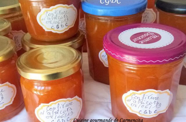 Confiture d'abricot à la fève Tonka - Photo par Carmen