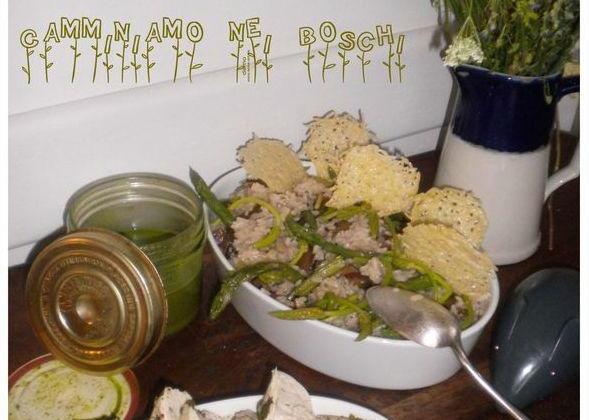 """Risotto """"Camminiamo nei boschi"""" - Photo par La petite cuisine de Sabine"""