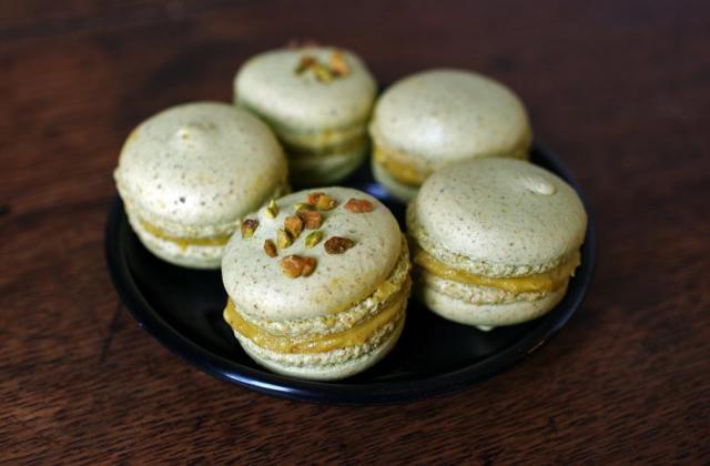 Macarons pistache - Photo par wandering-girl