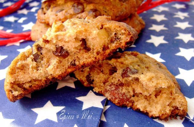 Cookies à l'américaine - Photo par Epices & Moi