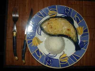 Coquilles de poisson sauce béchamel - Photo par 750g