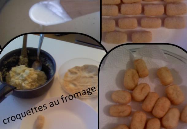 Croquettes au fromage - Photo par mananai