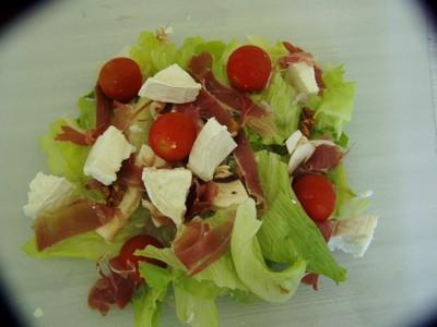 Salade composée du soleil - Photo par 750g