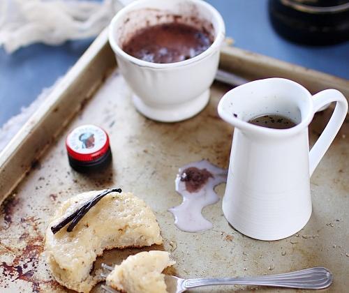 Crumpets au rhum Negrita et sirop de vanille - Photo par Negrita