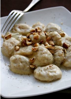 Gnocchi de pommes de terre sauce au gorgonzola et pistaches grillées - Photo par Silvia Santucci