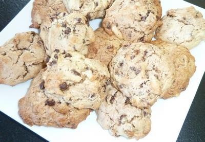 Cookies moelleux extra au chocolat - Photo par papouyK