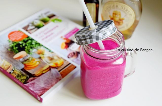 Smoothie betterave rouge et framboise - Photo par Ponpon