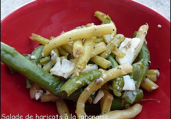 Salade de haricots à la japonaise - Photo par mesenviesetdelices