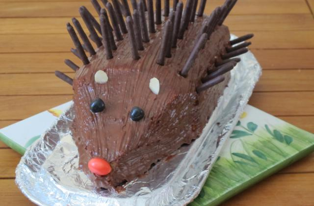 Gâteau hérisson d'anniversaire - Photo par sandpl