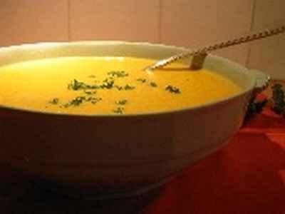 Soupe au potiron facile et rapide - Photo par annabez