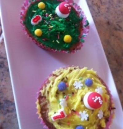 Duo de cupcakes - Photo par La cuisine d'Eve