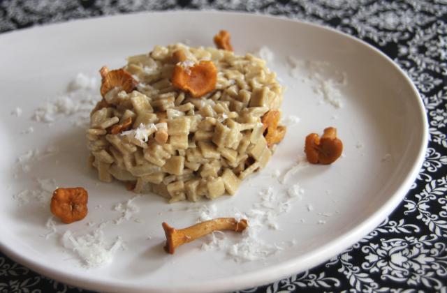 Crozets aux girolles façon risotto - Photo par opheli3