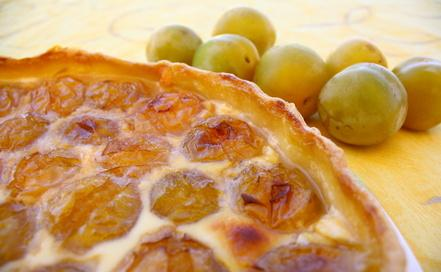 Tarte aux prunes - Photo par talili