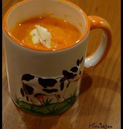 Soupe carottes vosgiennes - Photo par mimilafee