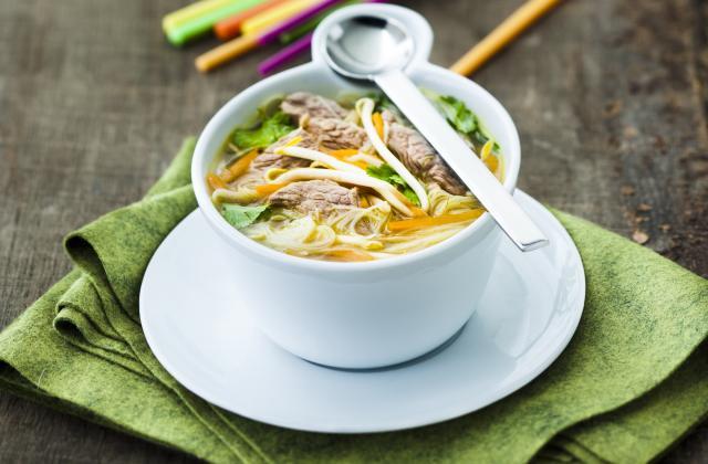 Soupe chinoise à l'agneau - Photo par Agneau Presto