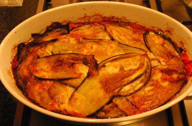 Parmigiana (jambon au four) - Photo par annebarcelona