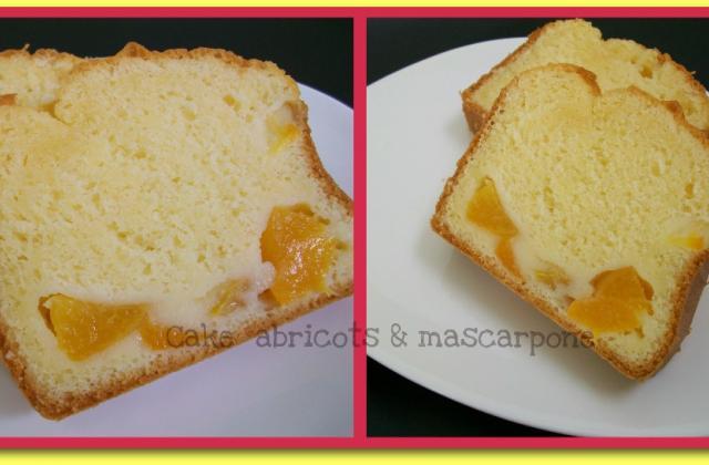 Cake abricots & mascarpone - Photo par Annick