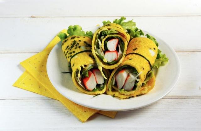 Omelette roulée à la japonaise et Petits Coraya - Photo par Coraya