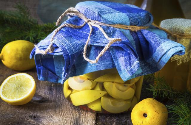 Citrons confits à l'huile d'olive - Photo par Chef Damien