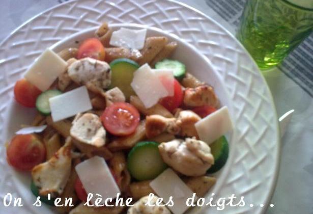 Salade de pâtes faciles - Photo par pepitavignon